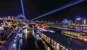 콴타스호주항공과 호주 뉴사우스웨일즈주 관광청이 공동으로 6월 16일까지 시드니 항공권 및 자유여행 상품 프로모션을 실시한다. 사진은 비비드 시드니 전경