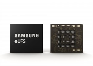 삼성전자가 자동차용 256GB eUFS를 선보인다