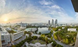 건국대가 2018 THE 아시아대학평가에서 아시아 95위, 국내 대학 14위를 기록했다. 사진은 건국대 전경