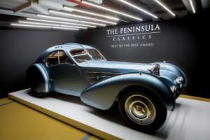 1936년식 부가티 타입 57SC 쿠페 애틀랜틱이 제3회 페닌슐라 클래식 베스트 오브 베스트 어워드를 수상했다