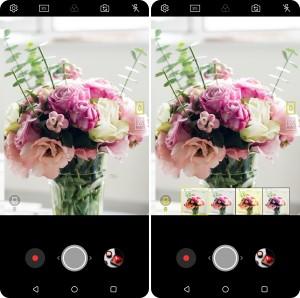 LG전자가 2018년형 LG V30에 누구나 편리하게 사용할 수 있는 공감형 AI를 담는다. 사진은 비전 AI 최적 촬영 모드 추천 기능