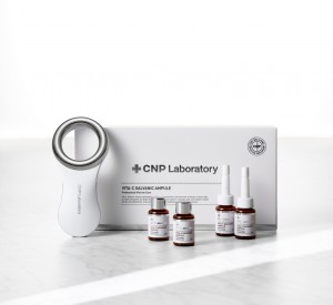 LG생활건강이 CNP 비타-C 갈바닉 앰플 프로그램을 출시했다