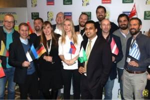전세계 21억명의 선수들을 지원하기 위해 창립된 국제 소카 연맹 창립 총회