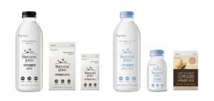 한국야쿠르트가 자사 우유 브랜드 내추럴플랜의 리뉴얼로 국내 우유 시장 소비 확대에 나선다