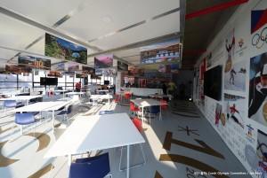퍼시스는 평창동계올림픽 참가국인 체코가 설치한 내셔널 하우스와 파트너십을 체결하고 홍보관 운영 기간에 제품을 지원했다