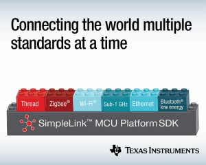 TI가 새로운 SimpleLink 무선 및 유선 마이크로컨트롤러 제품을 출시한다