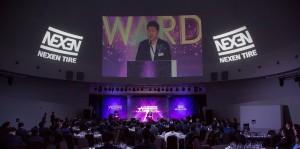 6일 개최한 2018 넥센타이어 어워즈 행사 현장