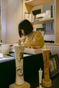 일본 전통 초 그림 그리기 워크샵