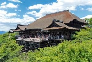 씨제이월디스 오사카 핵심 일주 패키지 여행 상품 일정에 포함된 청수사