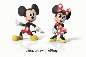 삼성전자 갤럭시 S9과 갤럭시 S9+에 탑재된 미키·미니 AR 이모지
