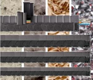 다양한 규격의 R2.1 밀폐형 에너지 튜브