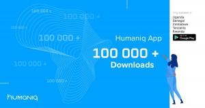 휴매닉이 최초 하이브리드 블록체인 플랫폼 구축에 성공하고 10만 다운로드를 돌파했다