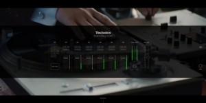 필하모닉 턴테이블 오케스트라 스페셜 웹사이트는 테크닉스 장비와 유사하게 디자인 되었다