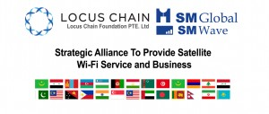 위성 WiFi 사업에 함께하는 국가들