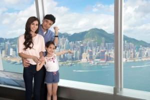sky100 홍콩 전망대 전망