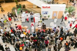 테팔이 스타필드 고양에서 '테팔 퀵 스티머 엑세스 스팀' 체험 행사를 진행했다.
