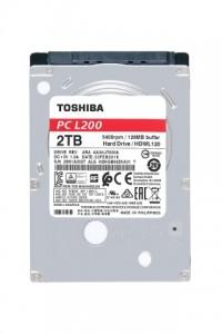 2TB 용량의 2.5인치 모바일 드라이브 내장 도시바 L200 랩톱 PC 하드 드라이브 시리즈