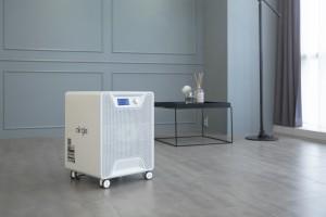에어글이 출시한 라돈 저감 전용 공기청정기 AG600S RADON
