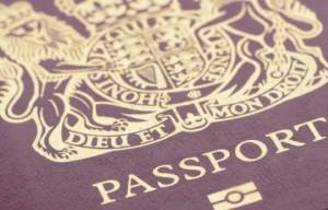 Current British passport