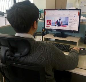 2018 평창패럴림픽 포털사이트 모니터링 현장