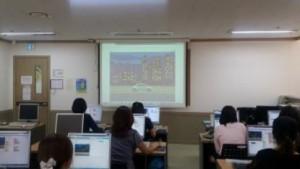 중랑여성새로일하기센터 직업훈련과정 훈련생 강의