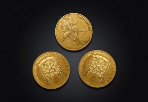 지신 갈루스 불리온 1온스 금메달