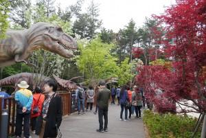 송도해상케이블카가 오픈한 공룡어드벤쳐
