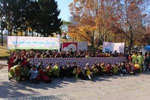 안산의료복지사회적협동조합 내 발로뛰어 봉사단 사랑의 김장나누기 행사