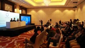 LOCUS CHAIN_dubai launching 기자간담회