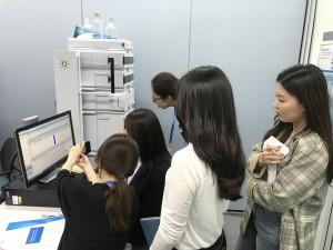 한국애질런트테크놀로지스 HPLC 기기분석 실습 교육 운영 현장