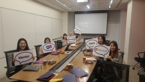 WISET과 한국MS의 글로벌 멘토링 킥오프미팅 소그룹 멘토링 현장