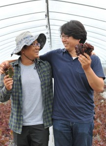 귀농닥터 서비스의 멘토 조영규 씨(왼쪽)와 멘티 김신영 씨