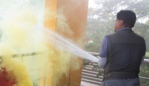 2017년 재난대응 안전한국 화재대비 훈련 현장