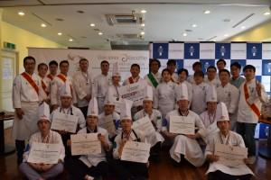 2018 아시아 에스코피에 주니어 요리대회 참가자들
