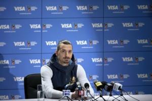 세계적인 축구 스타 즐라탄 이브라히모비치가 2018년 러시아 피파 월드컵과 함께 돌아온다