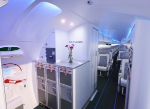 델타항공이 CRJ 소형제트기에 적용되는 ATMOSPHÈRE 객실을 최초로 운영하는 항공사가 됐다