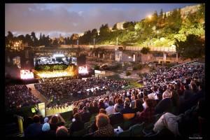 술탄 풀(Sultan's Pool) 야외 극장에서 열리는 예루살렘 오페라 페스티벌