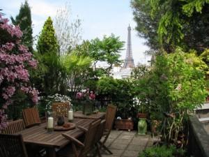 파리 Eiffel qi Garden
