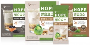 H.O.P.E 발효효소 밸런스밀 3종
