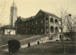 주교관 전경, 1920년대 초