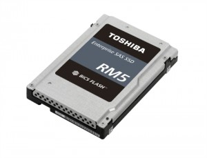 도시바 메모리 코퍼레이션이 RM5 밸류 SAS SSD 시리즈를 공개했다