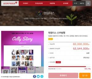 유진투자증권 크라우드펀딩을 성공적으로 마친 텐원더스