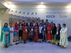 한국보건복지인력개발원 방글라데시 ASD 입교식