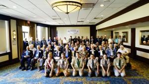 동원그룹이 미국서 한국전 참전용사 초청 오찬 행사를 개최했다.