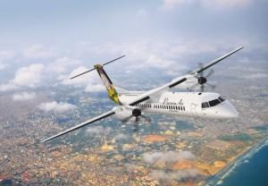 가나 항공사인 PassionAir가 제3자를 통한 단순임차 방식으로 Q400 터보프롭 중고 항공기 3대를 임대했다