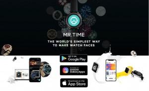 앱포스터의 스마트 워치 페이스 플랫폼 미스터타임
