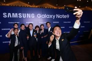 태국에서 열린 삼성 갤럭시 노트9 출시행사