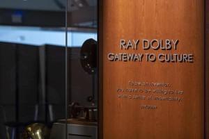 돌비 래버러토리스 창립자인 故 레이 돌비를 추모하는 Ray Dolby Gateway to American Culture관