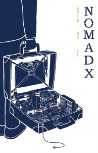 노마드엑스 디자인 무료 전시회 포스터