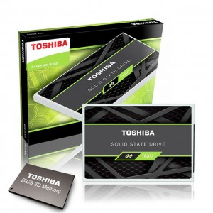 Toshiba 3D BiCS FLASH™ 탑재한 TR200 SSD